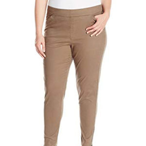 NEW Lee Waist Smoothing Pull On Tapered Pants 26W